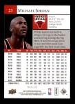 2009 Upper Deck #23  Michael Jordan  Back Thumbnail