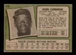 1971 Topps #115  Donn Clendenon  Back Thumbnail