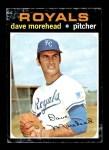 1971 Topps #221  Dave Morehead  Front Thumbnail