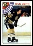 1978 Topps #164  Rick Smith  Front Thumbnail
