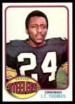 1976 Topps #29  J.T. Thomas  Front Thumbnail