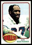 1976 Topps #174  Reggie McKenzie  Front Thumbnail