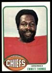 1976 Topps #216  Emmitt Thomas  Front Thumbnail
