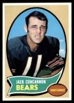 1970 Topps #212  Jack Concannon  Front Thumbnail