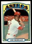 1972 Topps #132  Joe Morgan  Front Thumbnail
