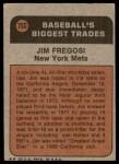 1972 Topps #755   -  Jim Fregosi Traded Back Thumbnail