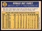 1970 Topps #690  Ron Fairly  Back Thumbnail