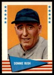1961 Fleer #96  Donnie Bush  Front Thumbnail