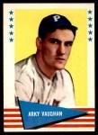 1961 Fleer #148  Arky Vaughan  Front Thumbnail