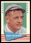1961 Fleer #59  Christy Mathewson  Front Thumbnail