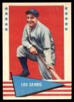 1961 Fleer #31  Lou Gehrig  Front Thumbnail