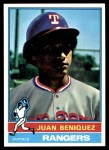1976 Topps #496  Juan Beniquez  Front Thumbnail