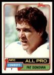 1981 Topps #330  Pat Donovan  Front Thumbnail
