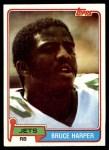 1981 Topps #211  Bruce Harper  Front Thumbnail