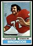 1974 Topps #321  Lyle Alzado  Front Thumbnail