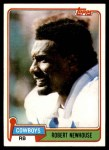 1981 Topps #71  Robert Newhouse  Front Thumbnail