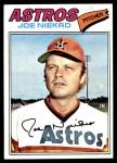 1977 Topps #116  Joe Niekro  Front Thumbnail