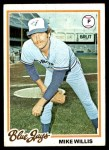 1978 Topps #293  Mike Willis  Front Thumbnail