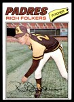 1977 Topps #372  Rich Folkers  Front Thumbnail