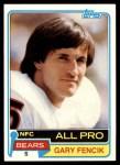 1981 Topps #40  Gary Fencik  Front Thumbnail