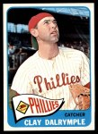 1965 Topps #372  Clay Dalrymple  Front Thumbnail