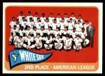 1965 Topps #234   White Sox Team Front Thumbnail