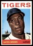 1964 Topps #471  Gates Brown  Front Thumbnail