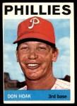 1964 Topps #254  Don Hoak  Front Thumbnail