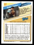 1993 Topps #97  Scott Fletcher  Back Thumbnail