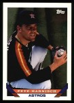 1993 Topps #195  Pete Harnisch  Front Thumbnail