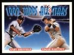 1993 Topps #403   -  Gary Sheffield / Edgar Martinez All-Star Front Thumbnail