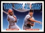 1993 Topps #404   -  Barry Larkin / Travis Fryman All-Star Front Thumbnail