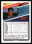 1993 Topps #456  Scott Taylor  Back Thumbnail