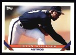 1993 Topps #614  Brian Williams  Front Thumbnail