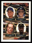 1993 Topps #658  Jeromy Burnitz / Melvin Nieves / Rich Becker / Shon Walker  Front Thumbnail