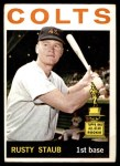 1964 Topps #109  Rusty Staub  Front Thumbnail