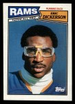 1987 Topps #146  Eric Dickerson  Front Thumbnail