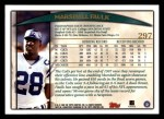 1998 Topps #297  Marshall Faulk  Back Thumbnail