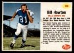 1962 Post #140  Bill Howton  Front Thumbnail