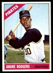 1966 Topps #592  Andre Rodgers  Front Thumbnail