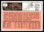 1966 Topps #464  Larry Bearnarth  Back Thumbnail