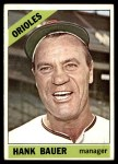 1966 Topps #229  Hank Bauer  Front Thumbnail