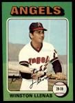 1975 Topps #597  Winston Llenas  Front Thumbnail