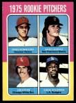 1975 Topps #624   -  Gary Lavelle / Doug Konieczny / Jim Otten / Eddie Solomon Rookie Pitchers   Front Thumbnail