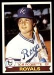 1979 Topps #476  Tom Poquette  Front Thumbnail