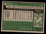 1979 Topps #261  Mario Guerrero  Back Thumbnail