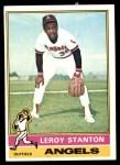 1976 Topps #152  Leroy Stanton  Front Thumbnail
