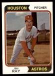 1974 Topps #458  Jim Ray  Front Thumbnail