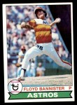 1979 Topps #306  Floyd Bannister  Front Thumbnail