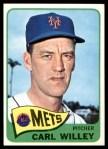 1965 Topps #401  Carlton Willey  Front Thumbnail